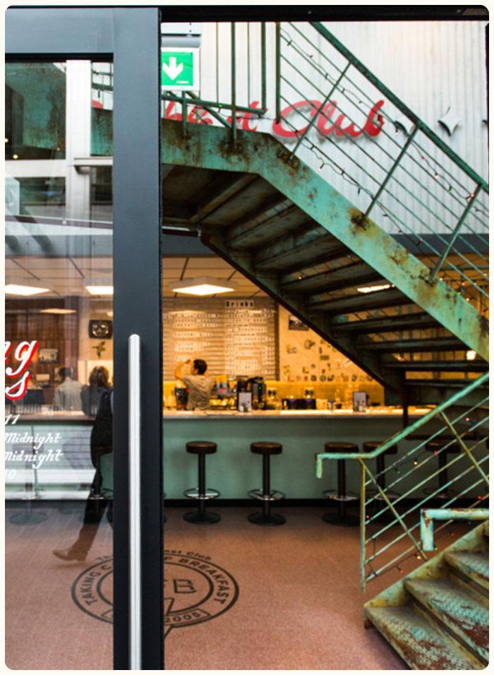 Canary Wharf The Breakfast Club